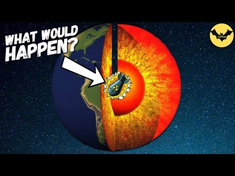What Happens If You Drop A Nuclear Bomb In The Earth's Core. thumbnail