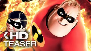 THE INCREDIBLES 2 Trailer Announcement & Edna Mode Retrospective (2018)