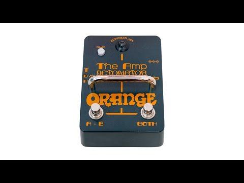 Orange Amp Detonator Pedal