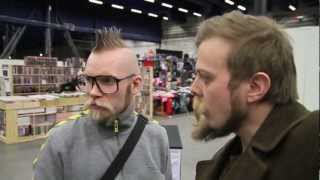 The SSGFC (Scandinavian Sci-Fi, Game & Film Convention) in Stockholm 2012 with Discjunkie &