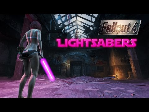 lightsaber fallout 4