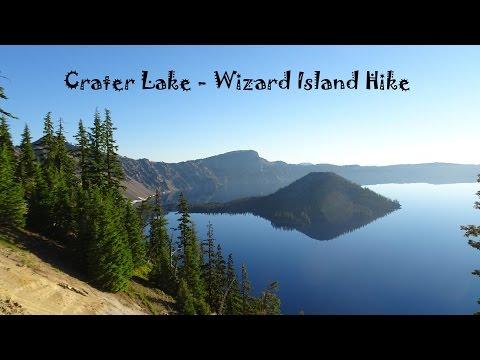 Hiking Crater Lake - Wizard Island Hike