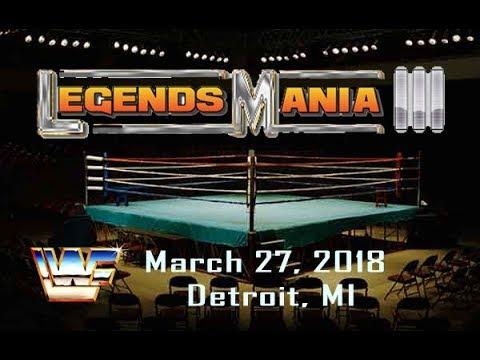 WWE2K18 - LWF LegendsMania III