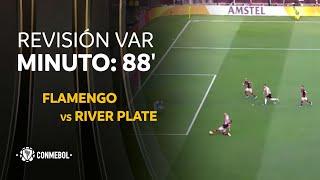 Flamengo vs River Plate MINUTO: 88'