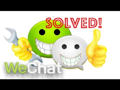 WECHAT PROBLEM SOLVED