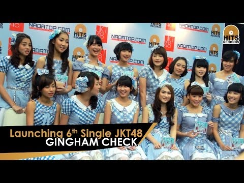 HITS News : Launching 6th Single JKT48 - Gingham Check