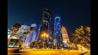 One Of The Safest Cities In The World, Doha! At Night Is Amazing