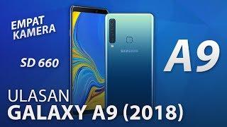 Samsung Galaxy A9 (2018) merupakan peranti pertama di dunia dengan ...