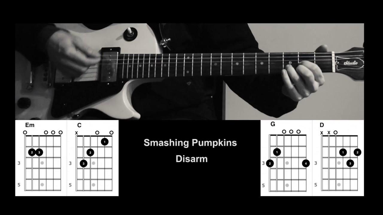 How to play smashing pumpkins disarm chordslyrics youtube how to play smashing pumpkins disarm chordslyrics hexwebz Image collections