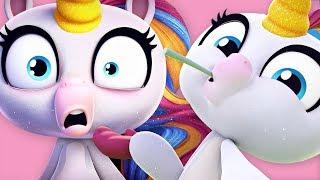 Fingerlings | Gigi The Unicorn's Funniest Moments from Fingerlings Tales | Kids Cartoons
