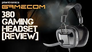 plantronics Gamecom 380 Gaming Headset Review & Microphone Test