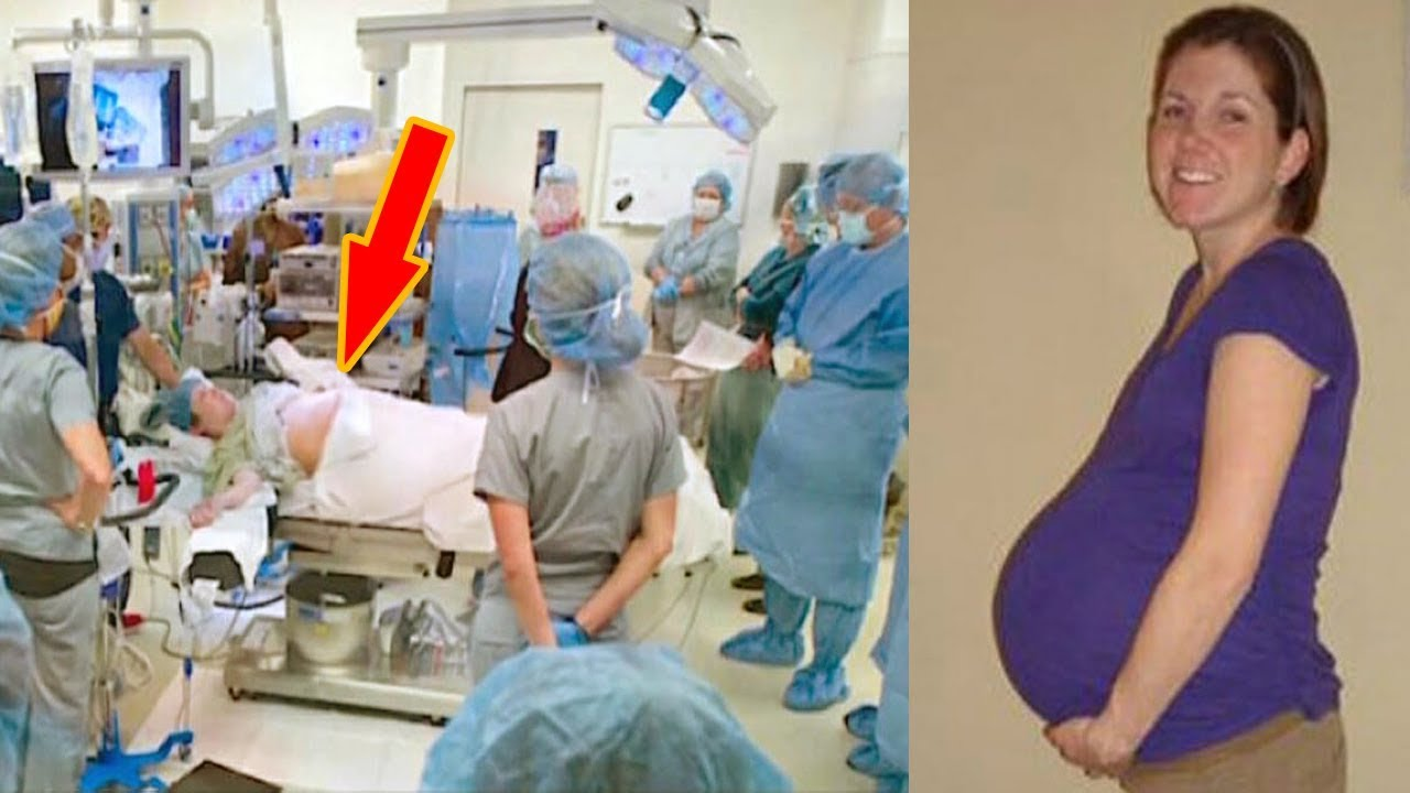 Texas mom thinks she's carrying twins: Then doctor takes a closer look and screams