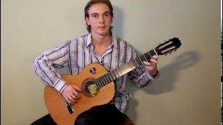 Фламенко на гитаре (не смотря на гриф!)
