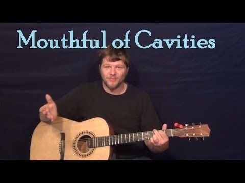 Mouthful of Cavities (Blind Melon) Easy Guitar Lesson How to Play Tutorial