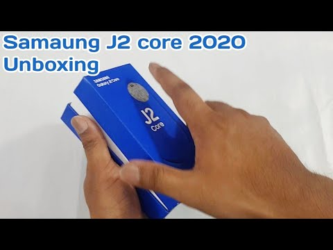Samsung J2 Core 2020 Unboxing | Hands On