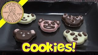 Japanese Kabaya Chocolate Panda Face Cookie Making Kit