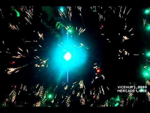 Arbol navidad moderno fibra optica y led youtube - Arbol navidad led ...