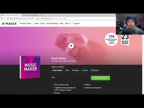 MAGIX Music Maker Free 2019 Ver 27 - Review + FREE New Soundpools