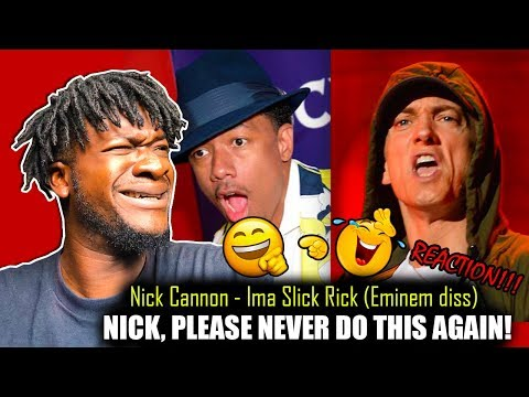 Nick Cannon - Ima Slick Rick (Eminem Di$$) REACTION!