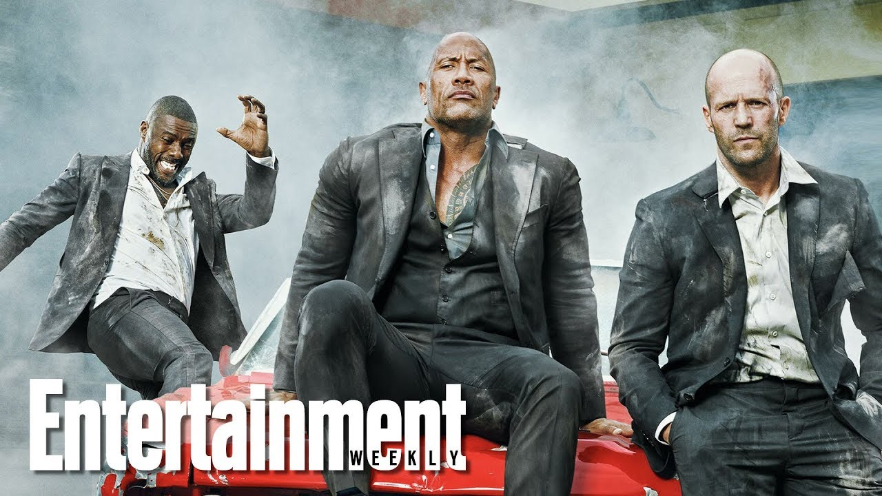 Dwayne Johnson Idris Elba Jason Statham On Upcoming Film Hobbs And Shaw Entertainment Weekly Youtube