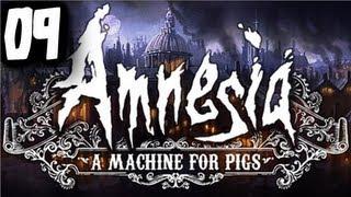 "ENDING!!!  - ""Amnesia: Machine for Pigs"" #09 - Zagrajmy z Esem!"