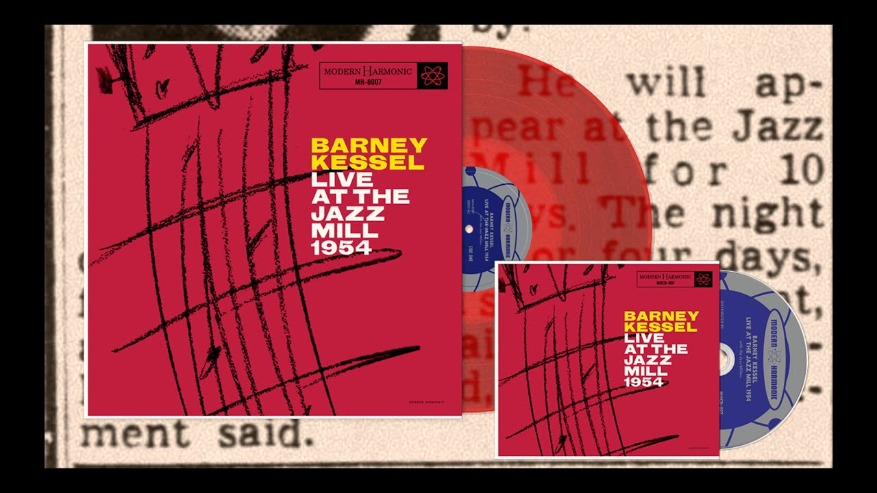 Barney Kessel - Live at the Jazz Mill 1954 - CD and Red Vinyl - YouTube