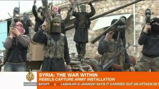 Syrian rebels capture key Aleppo army installation   YouTube
