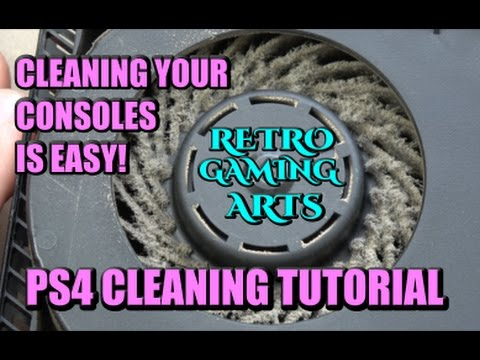 PS4 CLEANING TUTORIAL - RGA
