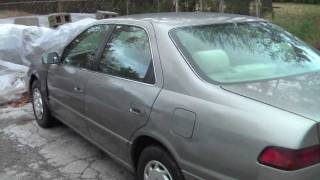 My $100 Toyota Camry After Engine Replacement