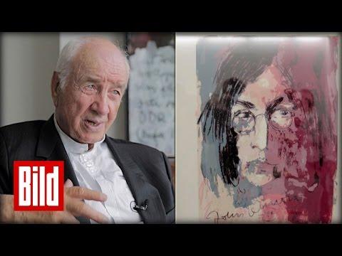 """Armin MuellerStahl macht Kunst : """"Ich male mir den Ärger vom Hals""""  Kunst    Lennon"""