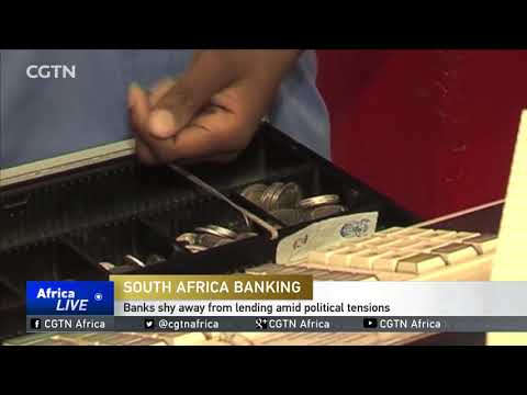 South Africa Banking: Banks shy away from lending amid political tensions