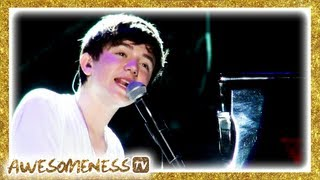 """Greyson explores beautiful singapore and performs the title track from his debut album """"hold on 'til night"""".watch answer your fan mail: http://yo..."""
