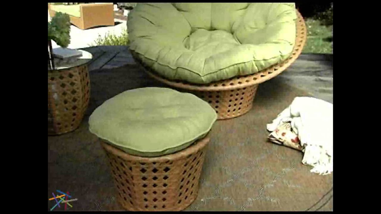 Jubilee All Weather Wicker Outdoor Papasan Chair Set Product