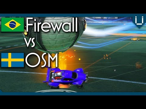 South America vs Europe in USA | Firewall vs OSM | Rocket League 1v1
