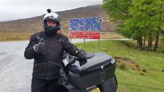 Scotland Motorcycle Camping Trip 2019 Part 1