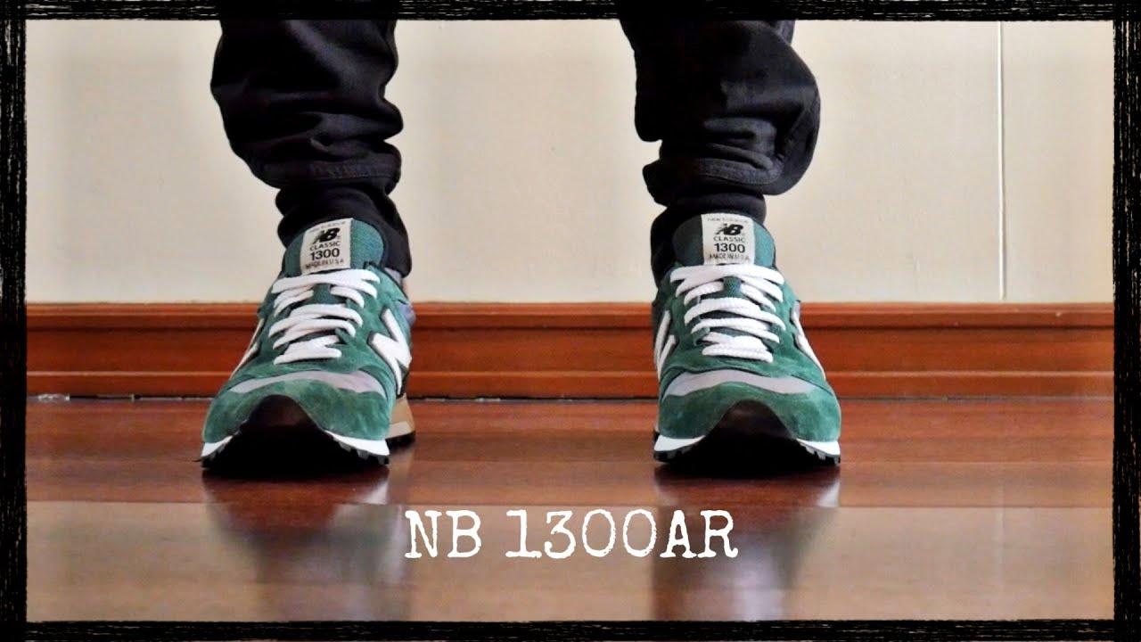 New Balance 1300AR Green/ Grey