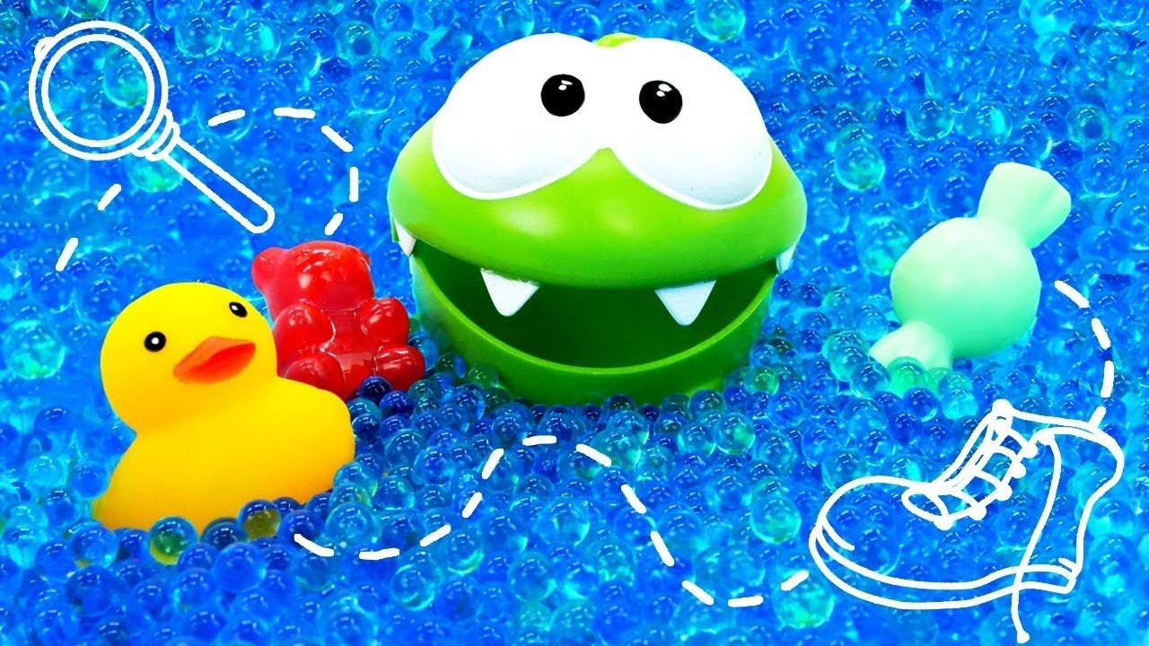 Квест для Ам Ням - Игрушка ищет конфеты - Мультики для ...