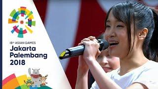 JKT48 Live Performance On Asian Games 2018 Jakarta - Palembang