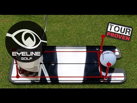 Golf Lessons-EyeLine Golf: Putting Alignment Mirror