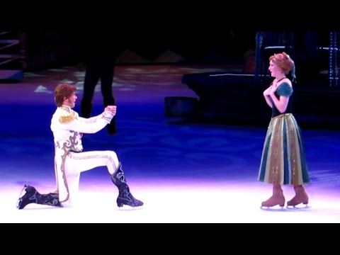 Disney on Ice Presents Frozen - Princess Anna Meets Hans for First Time, Marriage Proposal poster