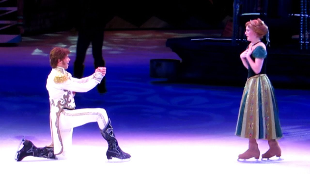 Disney On Ice Presents Frozen Princess Anna Meets Hans