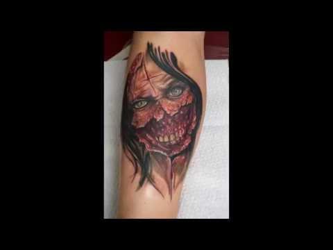 Tatuajes De Zombies Ideas Para Tu Tatuaje Youtube
