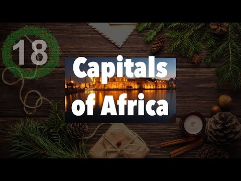 Capital Cities of AFRICA - Daily December 18