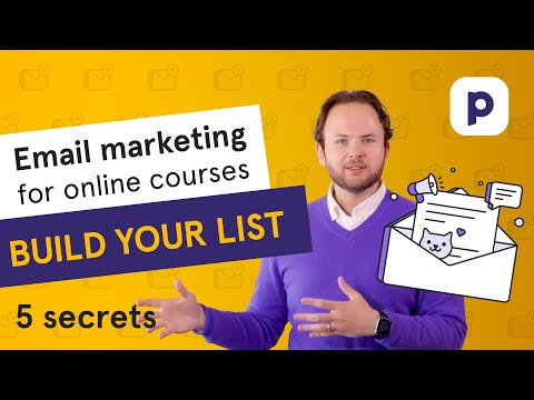 Email marketing for Online Courses: 5 list-building secrets of the pros 🤫