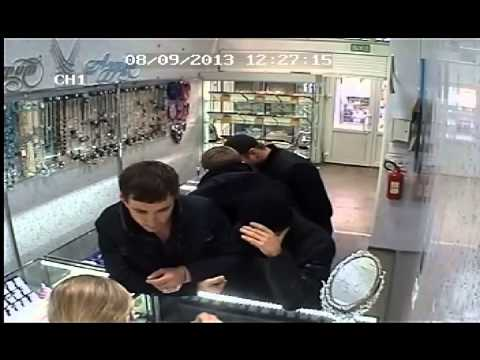 видео: Саратовские преступники!!! Розыск!!!  ограбление ювелирного магазина Ивановской области