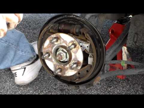 How To Check Drum Brakes Dodge Plymouth Neon 2001 2005