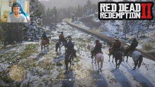 ATRACAMOS UN TREN - Historia Red Dead Redemption 2 - Capítulo 3 Video