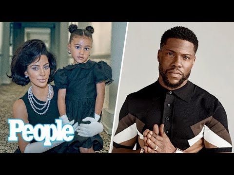 Kim Kardashian On Raising Biracial Kids, Kevin Hart & Stars Support Houston | People NOW | People
