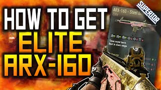 AW: HOW TO GET ELITE ARX-160 STEEL BITE! (How to Get ELITE Weapons in Advanced Warfare)