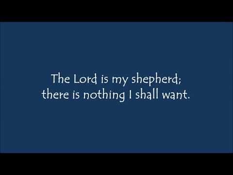 Psalm 23: The Lord is My Shepherd (Scott Crandal) - Cover